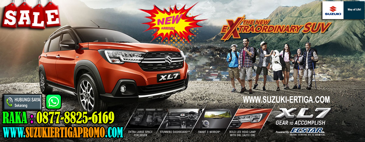 PROMO TERBARU SUZUKI ALL NEW XL 7