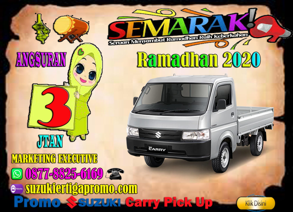 promo carry pick up bualn ramadhan 2020