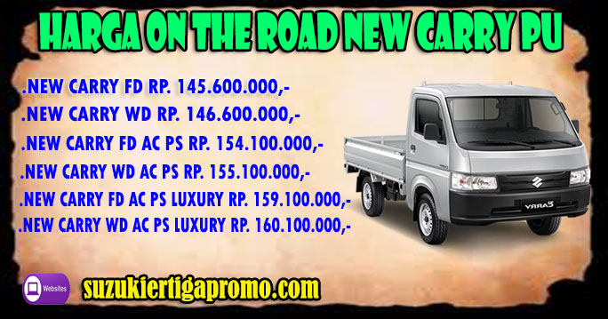 HARGA-OTR-CARRY-PICK-UP