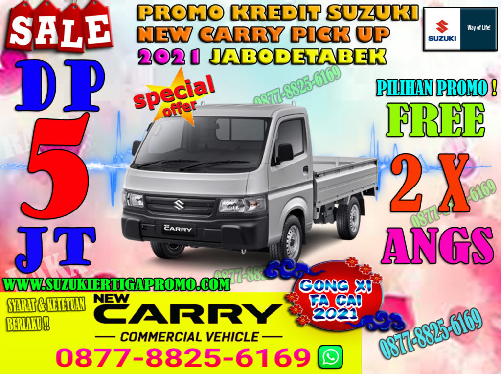 PROMO CARRY PICK UP 2021